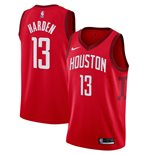 Men's Houston Rockets James Harden Nike Red Earned Edition Swingman Jersey