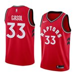 Men's Toronto Raptors Marc Gasol Nike Red Icon Edition Swingman Jersey