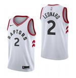 Men's Toronto Raptors Kawhi Leonard Nike White Association Edition Swingman Jersey