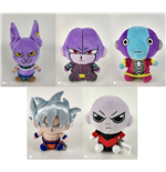 Dragonball Super Plush Figures 15 cm Series 2 Display (6)