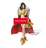 One Piece Glitter & Glamours Figure Boa Hancock Christmas Style A 25 cm