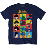 The Beatles Men's Tee: Yellow Submarine Characters