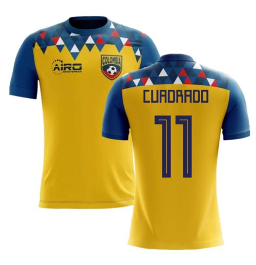 2018-2019 Colombia Concept Football Shirt (Cuadrado 11) - Kids