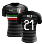 2018-2019 Italy Third Concept Football Shirt (Pirlo 21)
