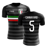 2018-2019 Italy Third Concept Football Shirt (Cannavaro 5) - Kids