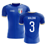 2018-2019 Italy Home Concept Football Shirt (Maldini 3) - Kids