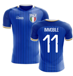 2018-2019 Italy Home Concept Football Shirt (Immobile 11) - Kids