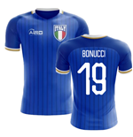 2018-2019 Italy Home Concept Football Shirt (Bonucci 19)