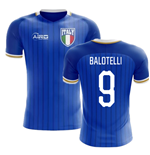 2018-2019 Italy Home Concept Football Shirt (Balotelli 9) - Kids