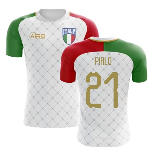 2018-2019 Italy Away Concept Football Shirt (Pirlo 21)