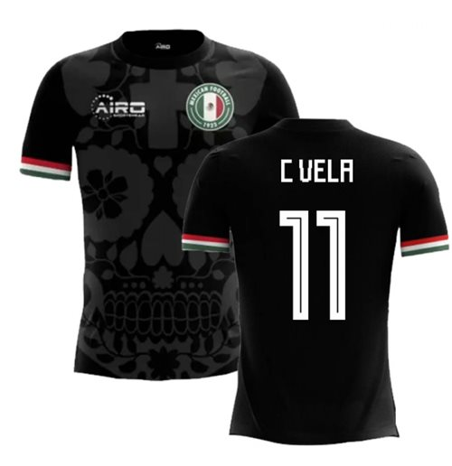 2018-2019 Mexico Third Concept Football Shirt (C Vela 11) - Kids