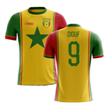 2018-2019 Senegal Third Concept Football Shirt (Diouf 9)