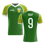 2018-2019 Senegal Away Concept Football Shirt (Diouf 9)