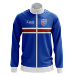Iceland Concept Football Track Jacket (Blue)