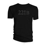 Sherlock Ladies Tee: 221B