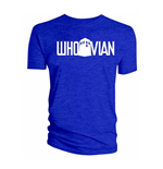 Doctor Who Men's Tee: Whovian Blue
