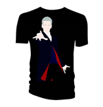 Doctor Who Ladies Tee: 12th Doctor Galaxy Coat Lining