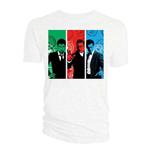 Doctor Who Ladies Tee: Red, Green, Blue Doctors