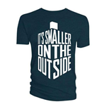 Doctor Who Men's Tee: Smaller on the Outside