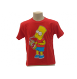 The Simpsons T-shirt Bart Slurp