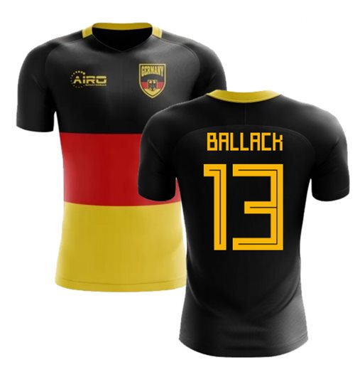 2018-2019 Germany Flag Concept Football Shirt (Ballack 13)