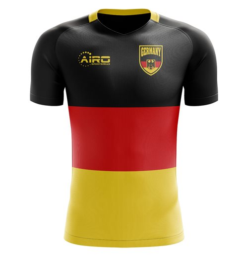 2018-2019 Germany Flag Concept Football Shirt