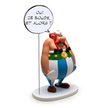 Asterix Collectoys Comics Speech Statue Obelix Yes I am grumpy, so what? 18 cm *French Version*