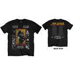 Bob Marley Men's Tee: Kaya Tour (Back Print)
