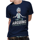 Rick And Morty - Arguing - Unisex T-shirt Blue