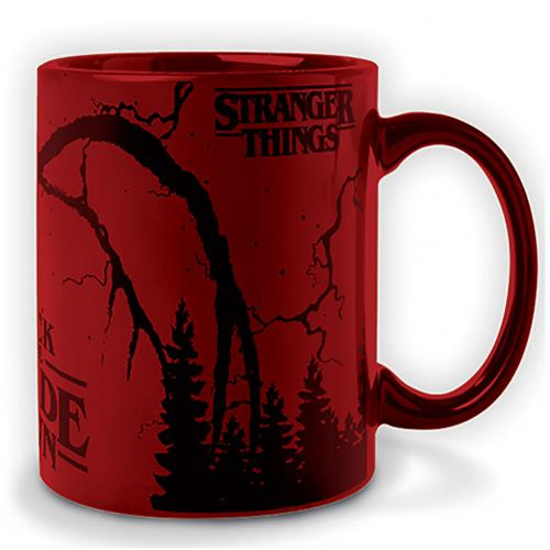 Stranger Things Metallic Mug