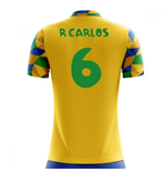 2018-2019 Brazil Home Concept Football Shirt (R Carlos 6)
