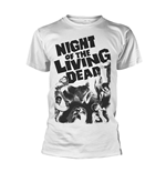 Plan 9 - Night Of The Living Dead T-shirt Night Of The Living Dead (WHITE)