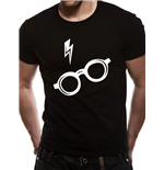 Harry Potter - Glasses - Unisex T-shirt Black