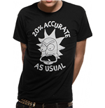 Rick And Morty - Accurate - Unisex T-shirt Black