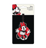 Mickey Mouse Rubber Luggage Tag Minnie Mouse