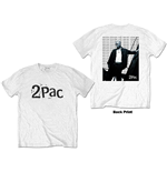 Tupac Unisex Tee: Changes Back Repeat (Back Print)