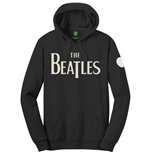 The Beatles Unisex Pullover Hoodie: Logo & Apple (Applique Motifs)