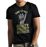 Rick And Morty - Riggity Wrecked - Unisex T-shirt Black