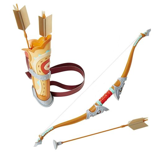 Legend of Zelda Breath of the Wild Roleplay-Replica Traveler's Bow and Arrow 58 cm