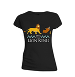 The Lion King Ladies T-Shirt Logo & Characters