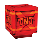 Crash Bandicoot 3D Light with sound TNT 10 cm