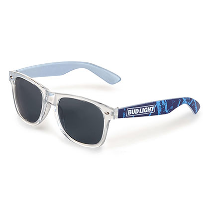 BUD LIGHT Black Lens Sunglasses