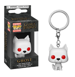 Game of Thrones Pocket POP! Vinyl Keychain Ghost 4 cm