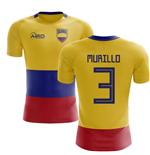 2018-2019 Colombia Flag Concept Football Shirt (Murillo 3) - Kids