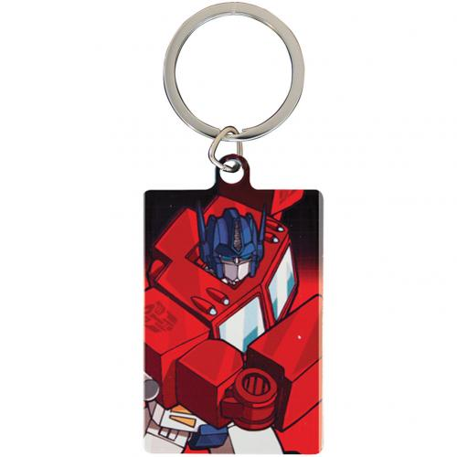 Transformers Metal Keyring Optimus Prime