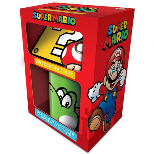 Super Mario Mug & Coaster Set