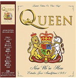 Vynil Queen - Now We're Here -Live 1981 Limited Editio