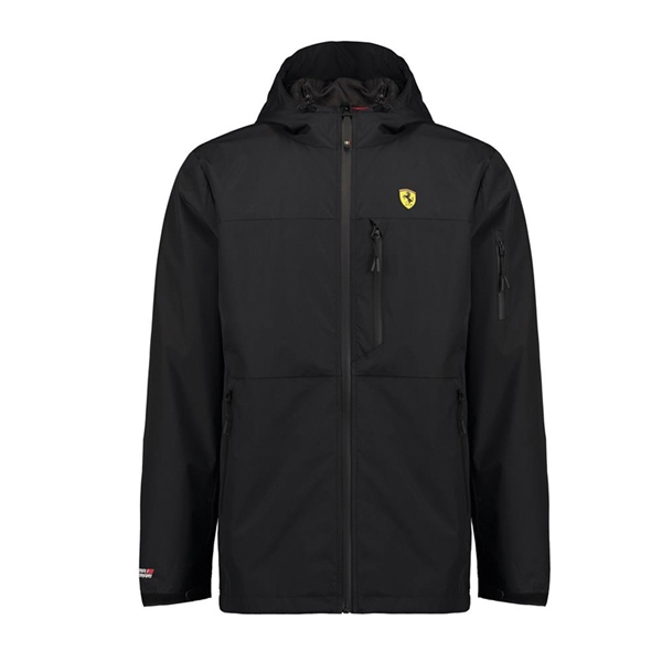 Ferrari Black Rain Jacket