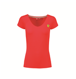 Ferrari Women's Red T-shirt