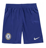 2019-2020 Chelsea Home Nike Football Shorts (Kids)